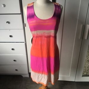 Cynthia Rowley knee length maxi dress size large